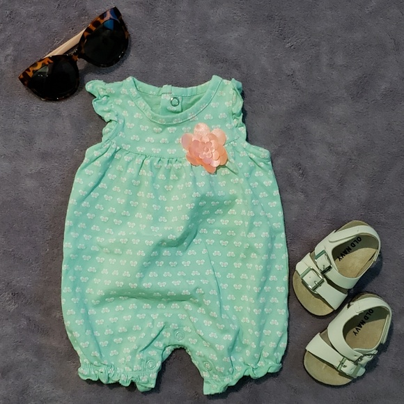 faf86bba5 Carter's One Pieces | Nwot Carters Just One You Romper | Poshmark